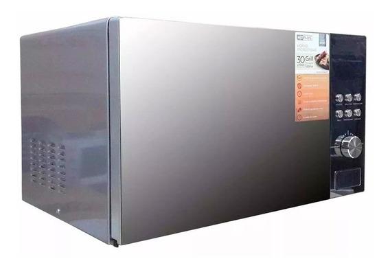 Microondas Hitplus Digital 30 Lts Plateado Cm-302dg + Envío!