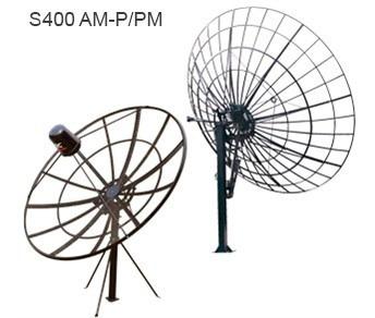 Antena Parabólica Grande 400 Cm Tela Alumio 1mm De Espessura