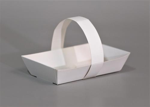 Imagen 1 de 3 de Canasta Take Away 15x8x4cm (x50u) Huevo Sandwich Vianda- 068