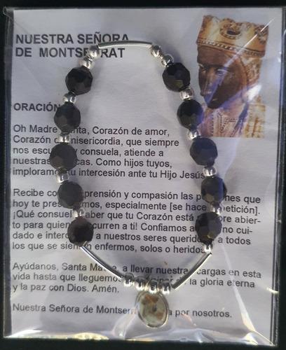 Imagen 1 de 1 de Pack 50 Pulsera Decenario Virgen De Montserrat, Hecha A Mano