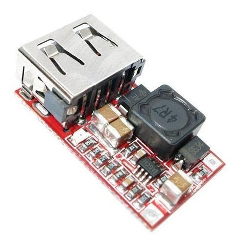 Regulador Tensão Step Down Dc Dc In 6~24v Out 5v Usb Arduino