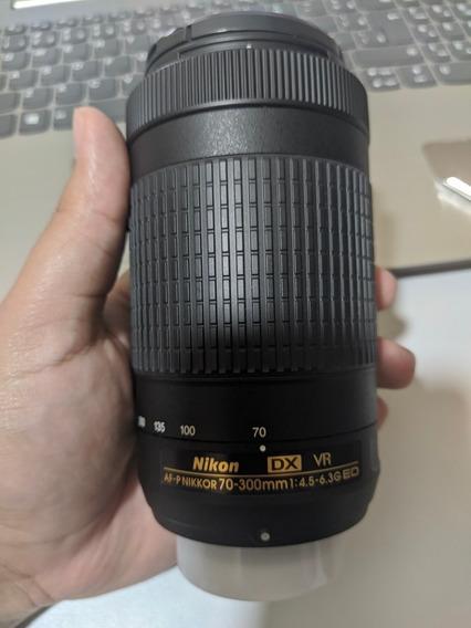 Lente Nikon 70-300 Dx (foco Automatico)