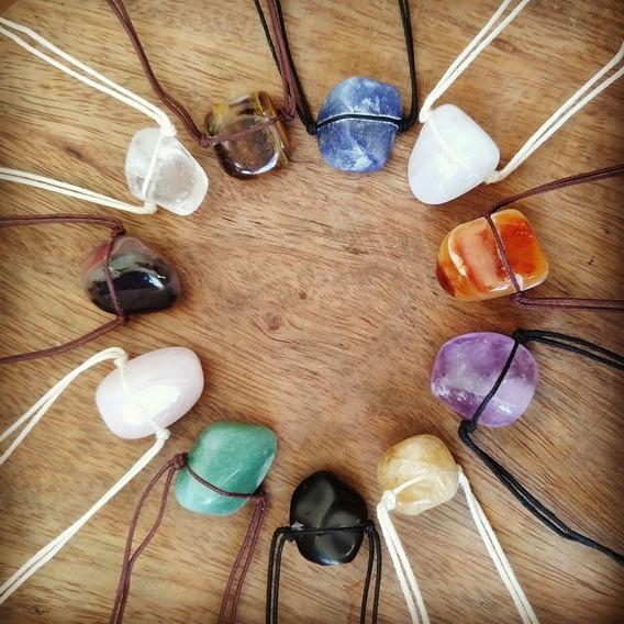 Difusor Pessoal / Colar Aromático De Pedra Natural