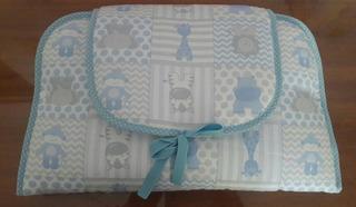 Cambiador Para Bebé Amplio E Impermeable