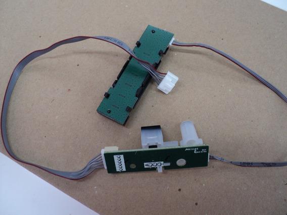 Sensor E Teclado Semp Toshiba 40l1500 ( Novo )