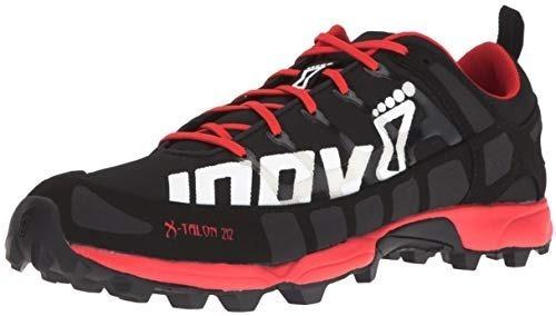 Zapatillas Inov-8 X-talon 212 Unisex Negro Con Rojo Running