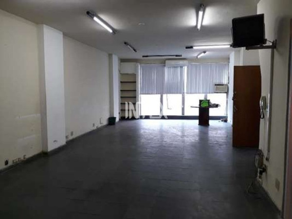 Excelente Sala Comercial De Frente E Com 120m² No Centro De Niterói. R$300.000,00. - Sa00010 - 34421584