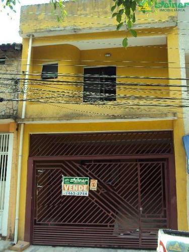 Imagem 1 de 15 de Venda Sobrado 3 Dormitórios Vila Camargos Guarulhos R$ 680.000,00 - 15551v