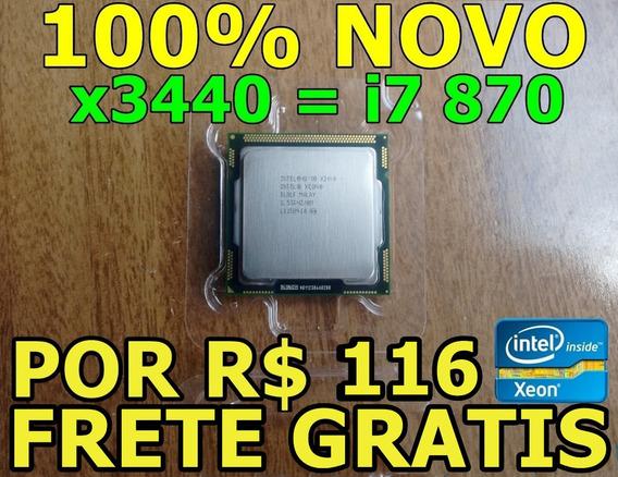 Intel Xeon X3440 2.53ghz = I7 870 ( Por R$ 116 * Leia )