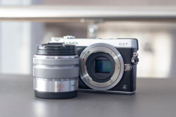 Camera Panasonic Lumix Gx7 + Lente 14-42 + 3 Baterias