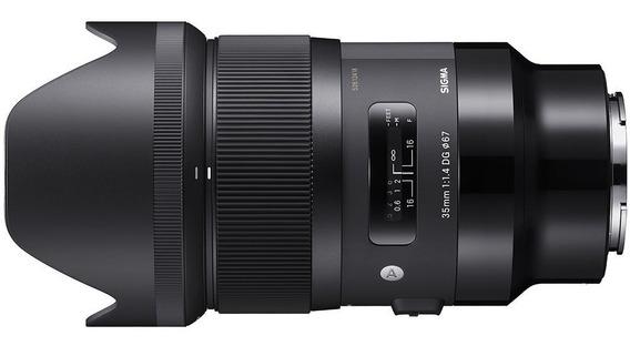Lente Sigma 35mm F/1.4 Dg Hsm Art Para Sony E