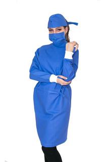 Bata Quirúrgica Cirugía Quirófano Durable Reusable