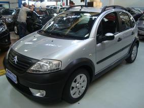 Citroën C3 1.6 Xtr 1.6 Flex 2007 Prata (completo + Couro)
