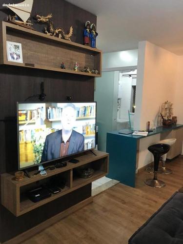Apartamento Para Venda Em Mogi Das Cruzes, Vila Mogilar, 2 Dormitórios, 1 Suíte, 2 Banheiros, 1 Vaga - 2918_2-1133555