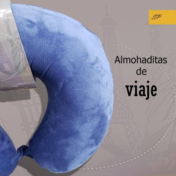 Almohaditas Cuellitos De Viaje Rosenthal Espuma De Memoria
