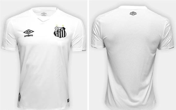 Camisa Santos Branca 2019/20 Novo Modelo