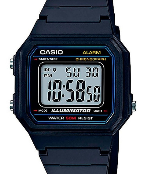 Relógio Casio Masculino Vintage W-217h-1avdf-br
