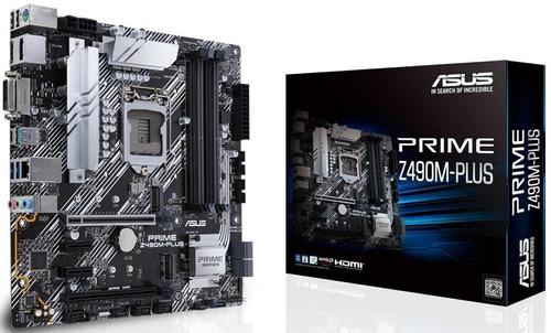 Motherboard Asus Prime Z490m Plus 10 Gen 1200 Z490 Intel