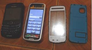 Celular Blackberry Curve Y Nokia 5230 Muy Buenos ( Leer )