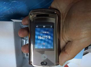 Motorola V9 Rarz. Libre Gold Rose. $2300