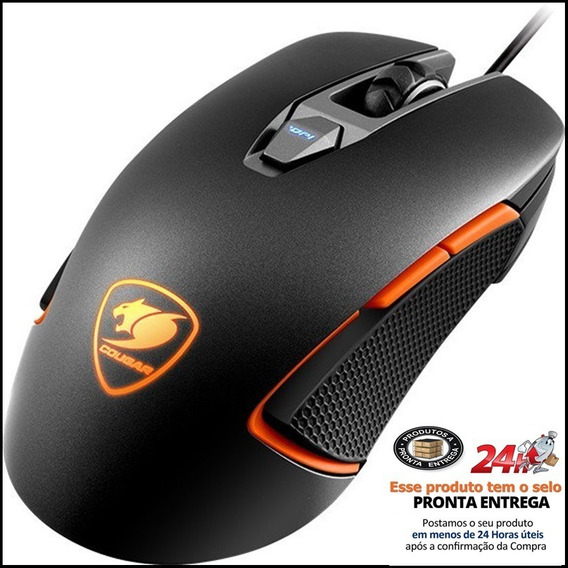 Mouse Cougar Gaming 450m Usb Optical 50-5000 Dpi