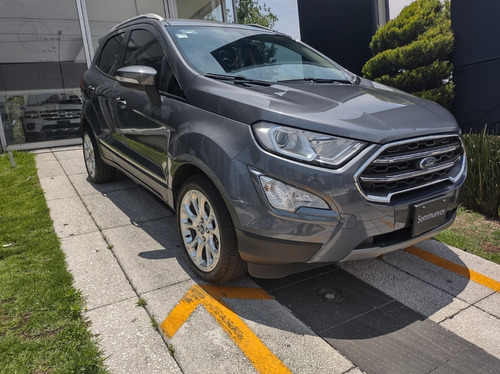 Imagen 1 de 15 de Ford Ecosport Titanium 2018 Gris