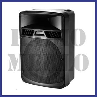 Bafle 8 Pulgadas Potenciado Bt Audiosonic As8408u 120w Usb