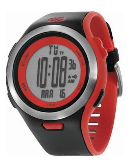 Relógio De Pulso Soleus Ultra Sole - Preto/vermelho