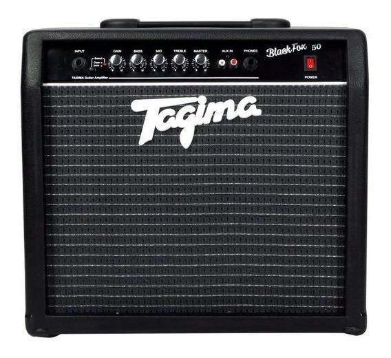 Amplificador Cubo Tagima Black Fox 50 Watts P/ Guitarra