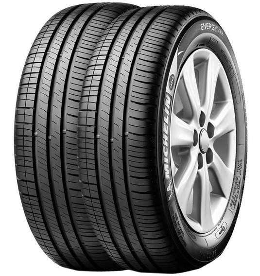 Kit 2 Pneus Michelin Aro15 195/60r15 88h Tl Energy Xm2