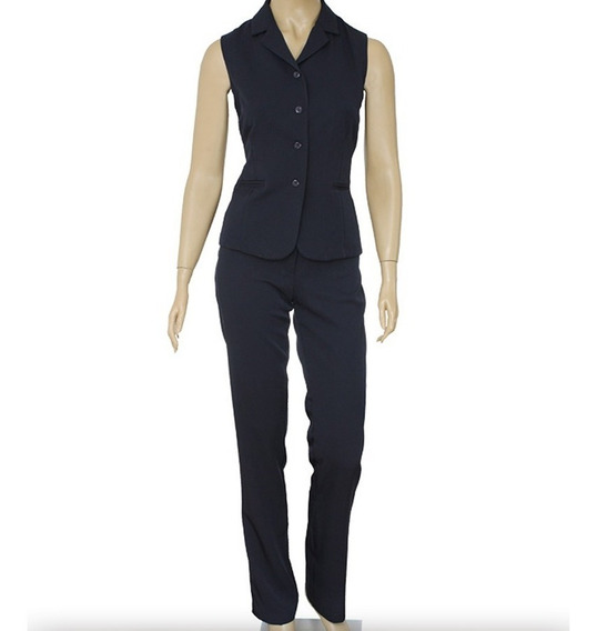 Terninho Feminino Social (colete+calça) Uniforme/escritório