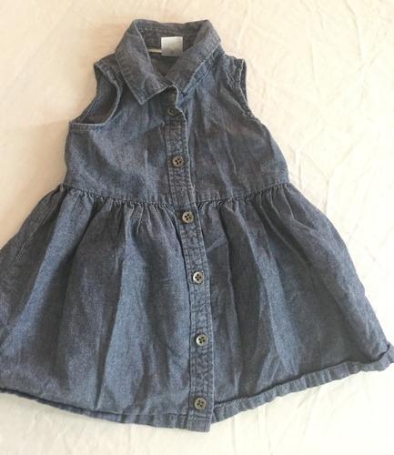 Vestido Jean Carter's Para Bebes