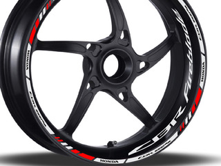 Friso + Adesivo Refletivo Roda Moto Honda Cbr 1000 Fireblade