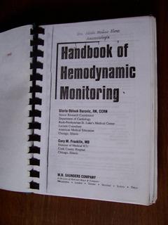 Handbook Of Hemodynamic Monitoring-en Inglés-395 Pág-ilust.