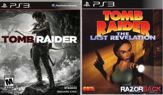 Tomb Raider Ps3 + Tomb Raider Iv The Last Revelation Ps3