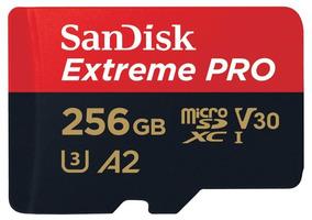 Cartao Sandisk Micro Sdxc 170mb/s 256gb 4k Gopro Hero6 Hero7
