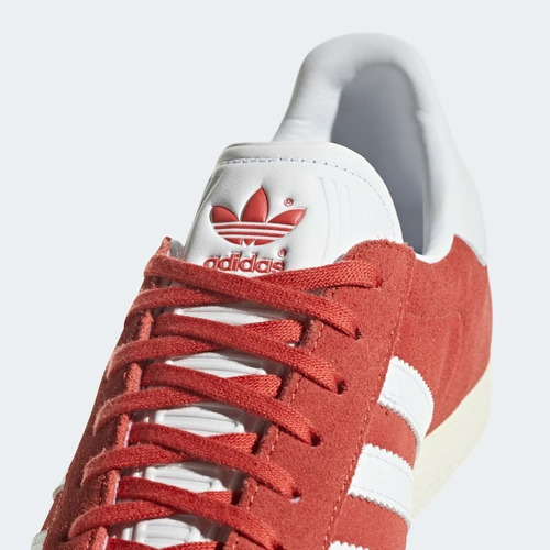 adidas gazelle hombre rojo