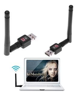 Usb Wifi Desmontable Portátil Alta Ganancia Regalo Antena