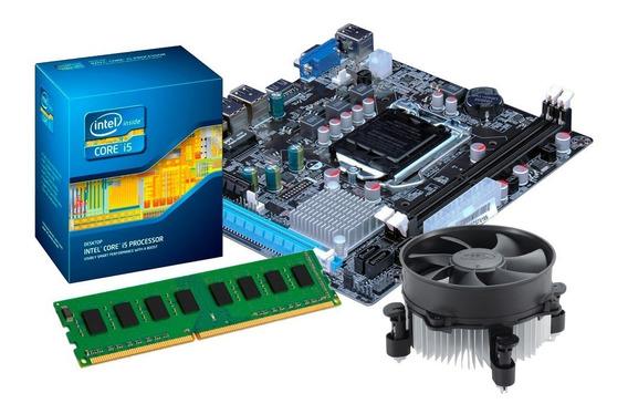 Kit Processador I5 -3470 + Placa Mãe H61 + 8gb Ddr3 + Nfe