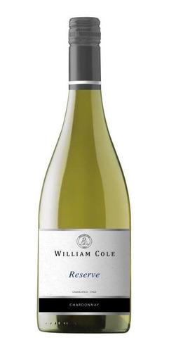 6 William Cole Reserve Chardonnay Ref. Retail $30.000