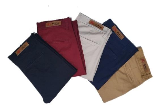 Pantalón De Vestir Buena Calidad Para Hombre( Packx6)