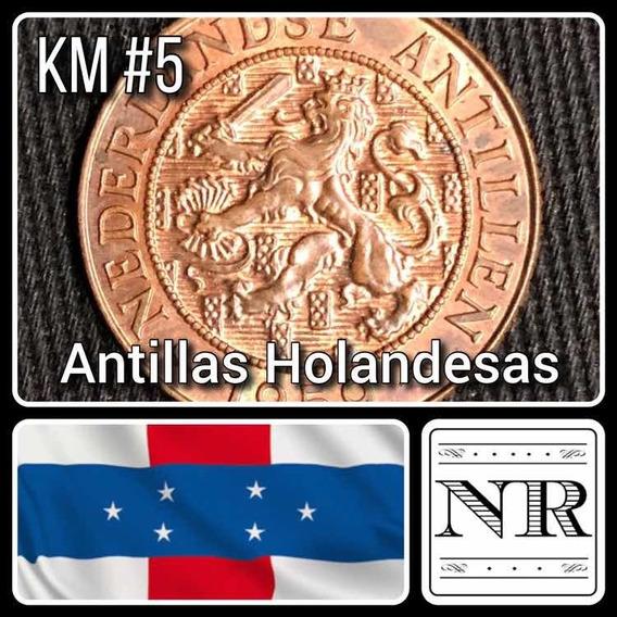 Antillas Holandesas - 2 1/2 Cents - Año 1959 - Km # 5