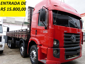 Vw 24.250 Constelattion Ano 2012 Carroceria Bitruck