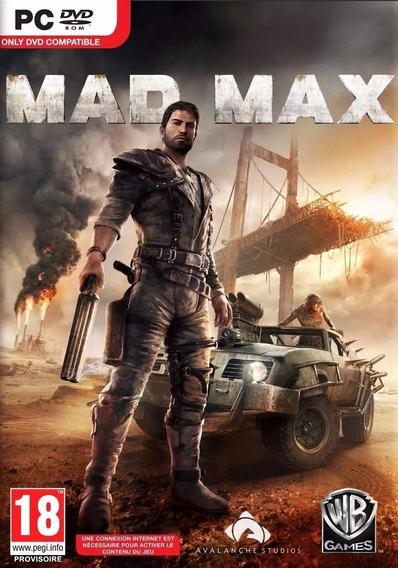 Mad Max Pc Steam Cd-key Envio Imediato