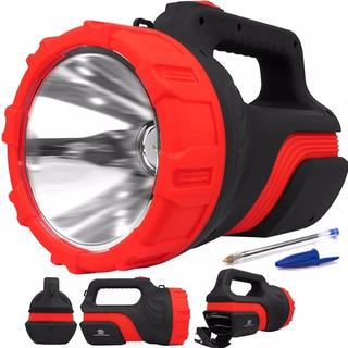 Lanterna Holofote Recarregável Led 500m 8hr Melhor Que X9001