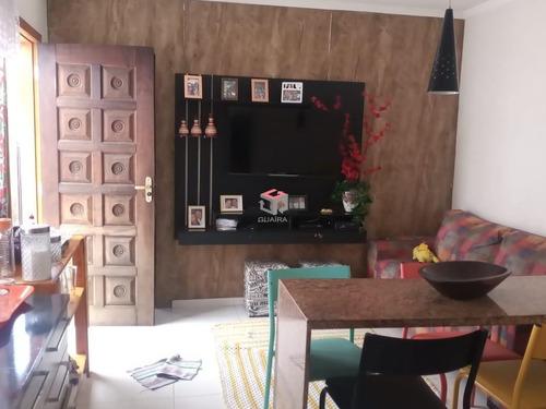 Imagem 1 de 10 de Casa À Venda, 2 Quartos, 1 Vaga, Linda - Santo André/sp - 101040
