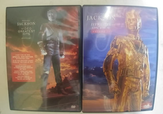 Michael Jackson: Dvd History On Film 2 + Video Greatest Hits