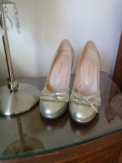 Zapatos Fiesta Ricky Sarkany Dorados Talle37