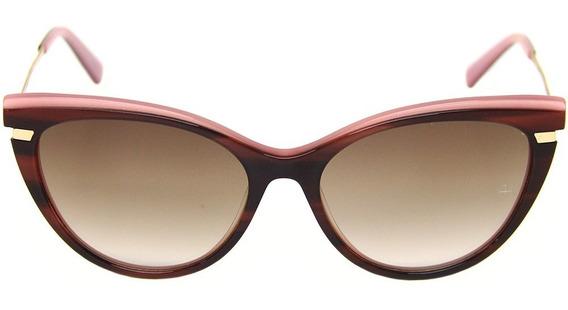 Óculos De Sol Feminino Ana Hickmann Ah 9281 - Gatinho