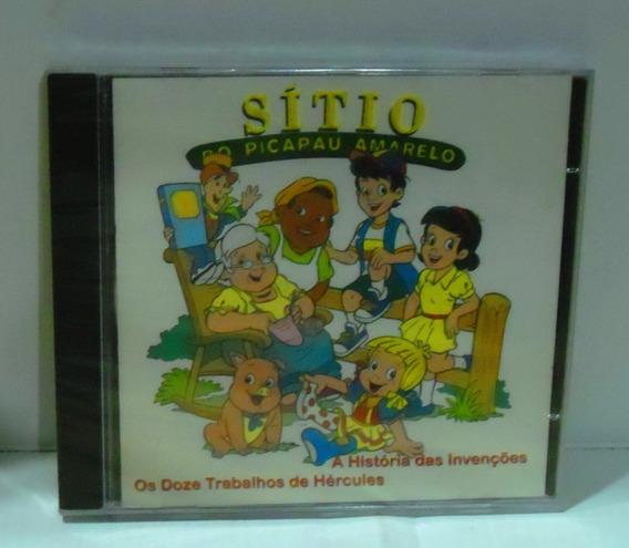 Cd Sítio Do Picapau Amarelo 2001 + Dvd Memorias De Emilia